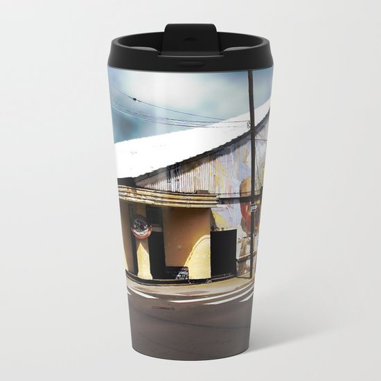 The Howlin' Wolf Metal Travel Mug