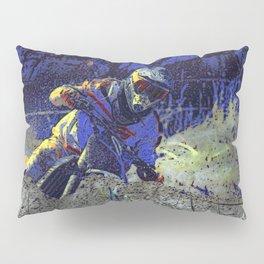 Trail Blazer Motocross Rider Pillow Sham