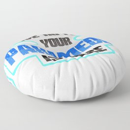 EMT Paramedic Have No Fear Your Paramedic is Here Floor Pillow