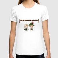 german T-shirts featuring German Chibis by artwaste
