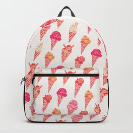 Ice Cream Cones – Pink & Peach Palette Backpack