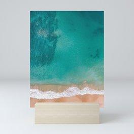Beach and Sea Mini Art Print