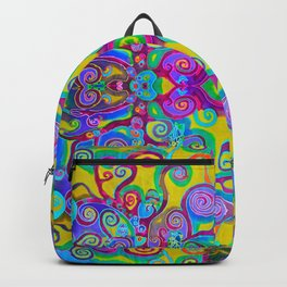 Klimt Tree of Life Mandala Backpack
