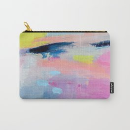 Dreamy Abstract pink Art  Carry-All Pouch