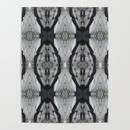 Duck Feather Pattern Poster