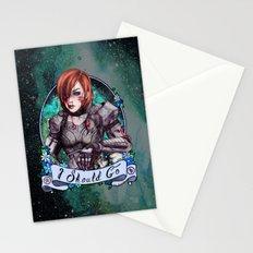 I Should Go (color) Stationery Cards