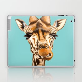 Giraffe Acrylic Painting Laptop & iPad Skin