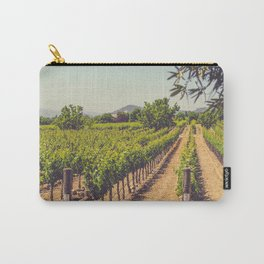 Vineyards 3 Carry-All Pouch