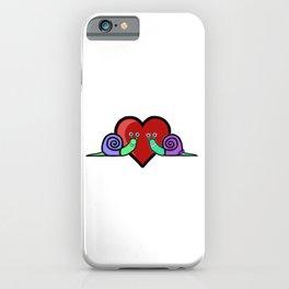 Snail Couple iPhone Case