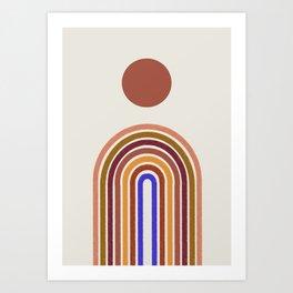 Rainbow, Arch  Art Print