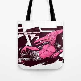 Amphibian DNA - Pteranodon Tote Bag