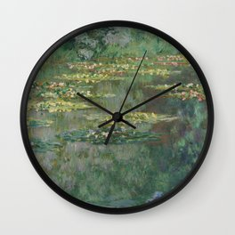 Le Bassin des Nympheas Wall Clock