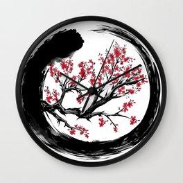Japanese ENSO ZEN Buddhist SHIRT Wall Clock