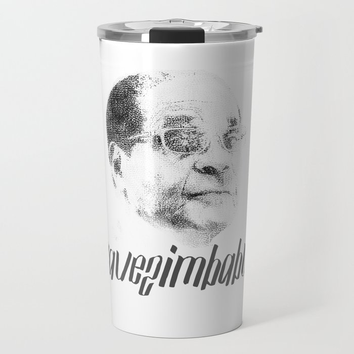 president of zimbabwe robert mugabe Travel Mug