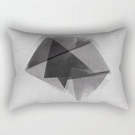 Abstraction Process Rectangular Pillow