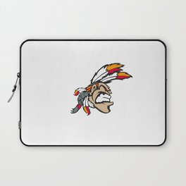 American indian man. Mascot. Kentucky. Laptop Sleeve