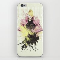 2ne1 iPhone & iPod Skins featuring 2NE1 - CL by Margot Park
