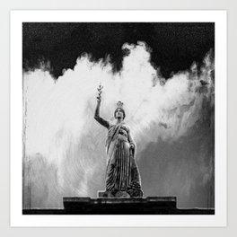 Monument Series: Gravity Angel #4 Art Print