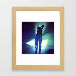 Ben Bruce - Asking Alexandria Framed Art Print