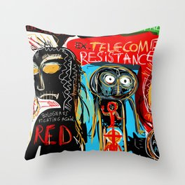 Ex-telecom Throw Pillow