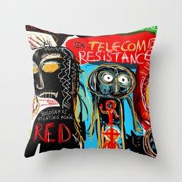 Ex-telecom Throw Pillow