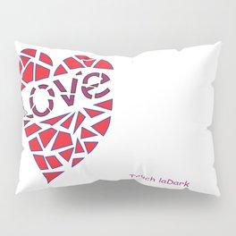 Mosaic Love Heart to claim a partner. Pillow Sham