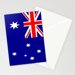 The Flag of Australia Stationery Cards