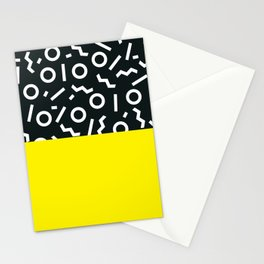 Memphis pattern 51 Stationery Cards