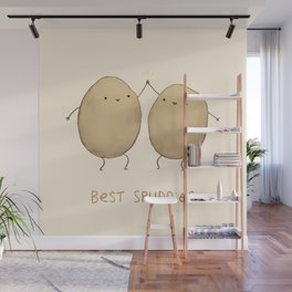 Best Spuddies Wall Mural