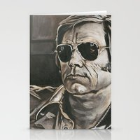phil jones Stationery Cards featuring Jones by Buddy Owens Paintings