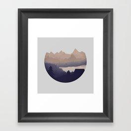 Remote Location Framed Art Print