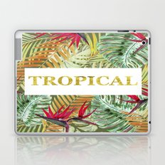 TROPICAL GOLD Laptop & iPad Skin