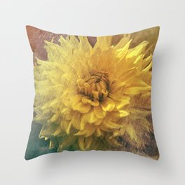 Chrysanthemum Beauty Throw Pillow