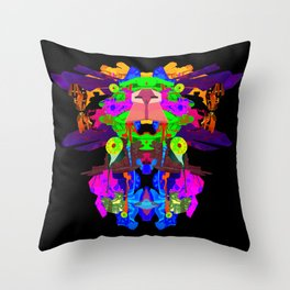 ULTRAWORLD EXODUS Throw Pillow