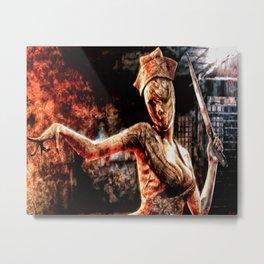 Death By Medicine Silent Hill Nurses Metal Print