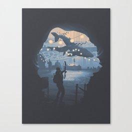 The Last of Us 2 Poster Series - Owens Aquarium Canvas Print