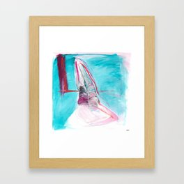 The Pink Ladies No.1 Painting Framed Art Print