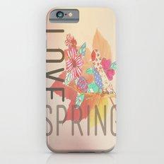 LOVE SPRING iPhone 6s Slim Case