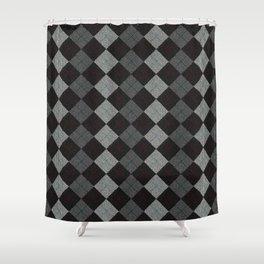 Golf Grey Shower Curtain