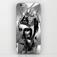 metropolis iPhone & iPod Skins featuring METROPOLIS by DIVIDUS