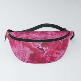 Pink Agate Mineral Gem Treasure Fanny Pack