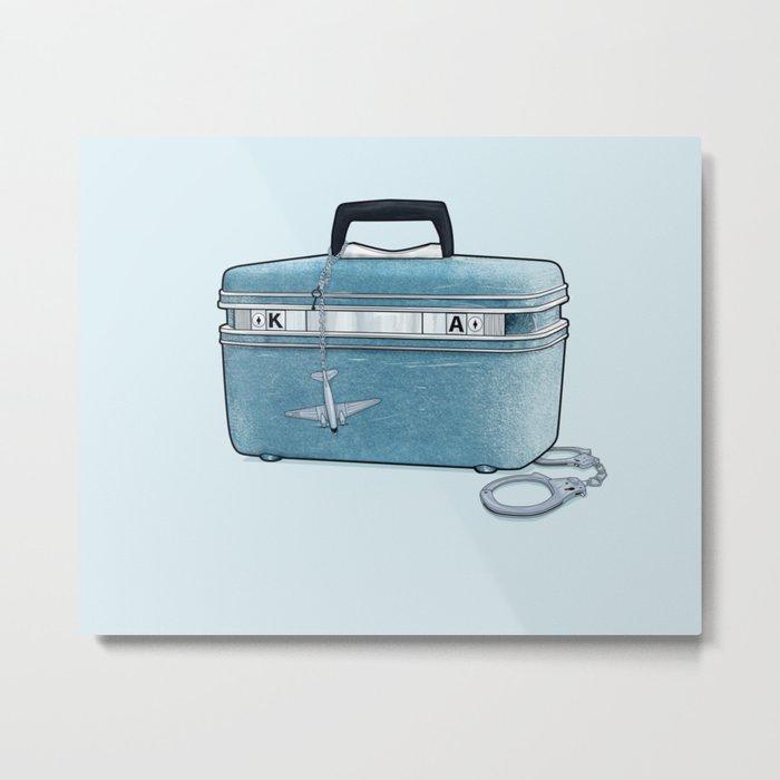 LOST Luggage / Kate Metal Print