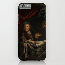 "Gerard Dou ""Sef-portrait"" iPhone Case"