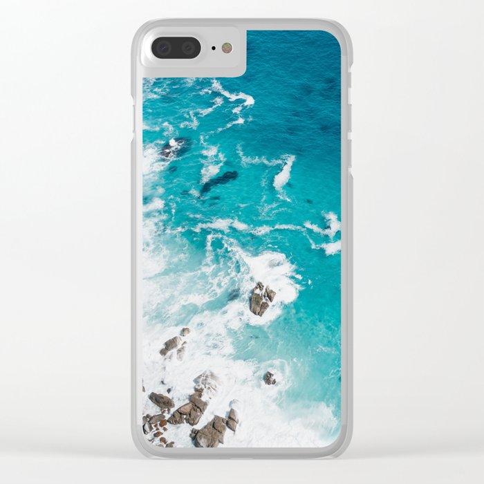Sea 4 Clear iPhone Case