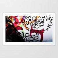 Typography art  Art Print