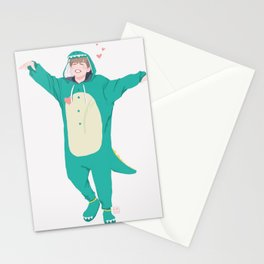 Jimin the Dinosaur Stationery Cards