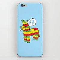 rasta iPhone & iPod Skins featuring Rasta pinata by Dmitriylo
