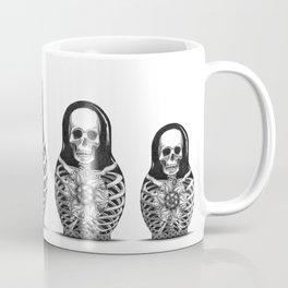 Matryoshka Skelton Doll Coffee Mug