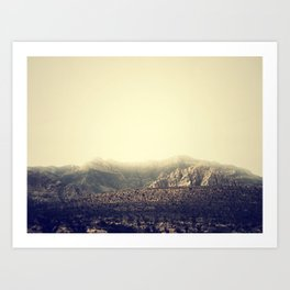Whispering Mountain Art Print