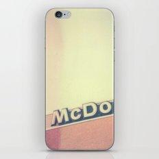 McDonalds Polaroid iPhone Skin